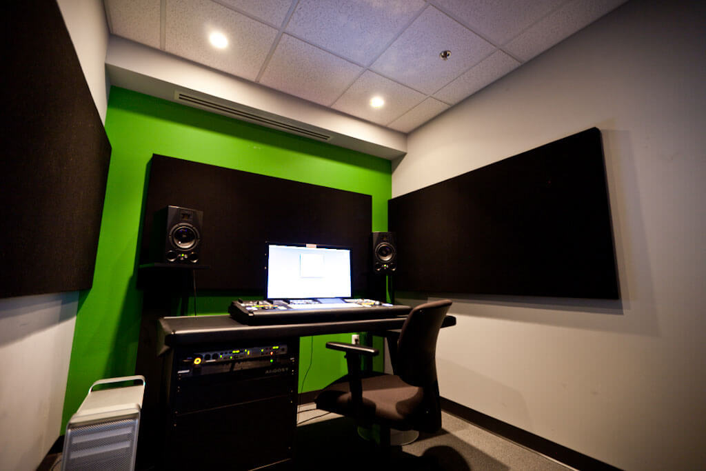 HD Mix and Edit Suites at IPR's downtown Minneapolis Campus