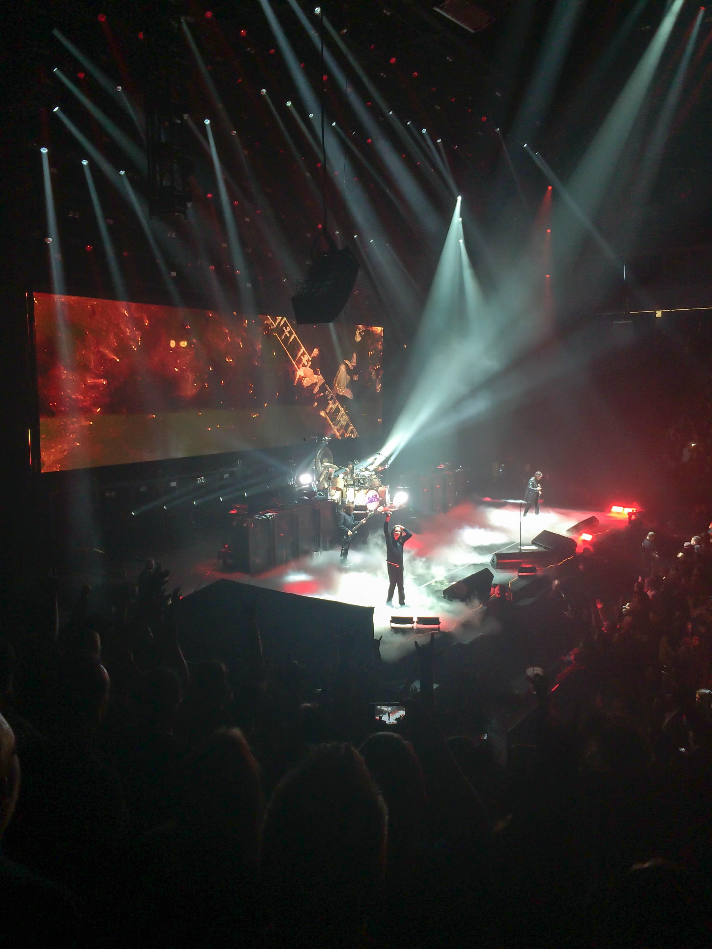 Sabbath on Stage