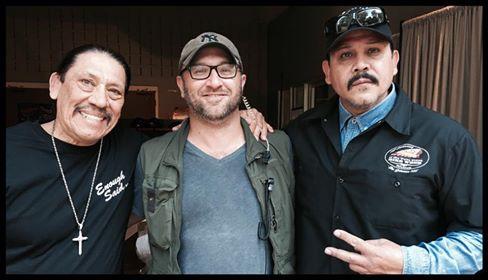 Danny Trejo, Andrew Hunt, and Emilio Rivera