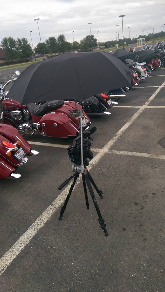 Lots of bikes lined up for the shot