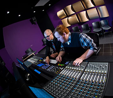 students pursue careers in sound design