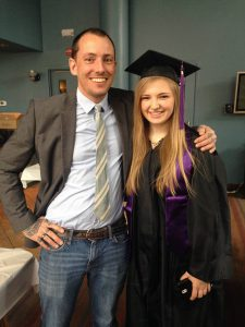 IPR Graduate Lindsey Lucht, along with DVMP chair Trey Wodele