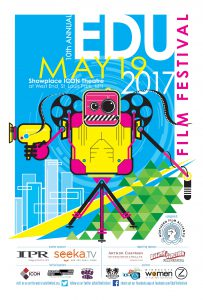 The EDU Film Festival is held each year in mid May, it is in its 10th year.