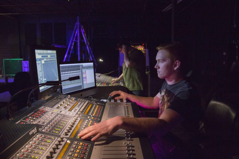 Live sound & show production student at IPR  involved with real-world shows and events